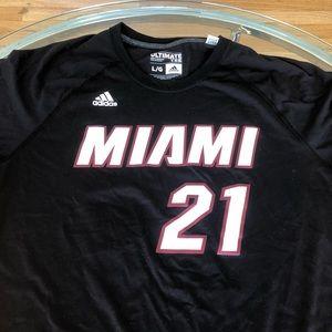 Adidas Miami Heat Hassan Whiteside Shirt